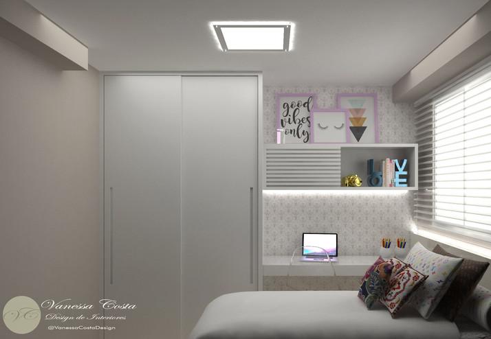 Quarto de Hóspede - Apartamento da Mulher