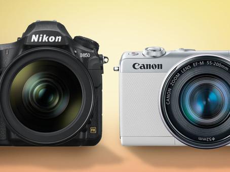 Recomendaciones de las mejores cámaras Profesionales y digitales