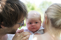 Newborn fotograaf outdoor