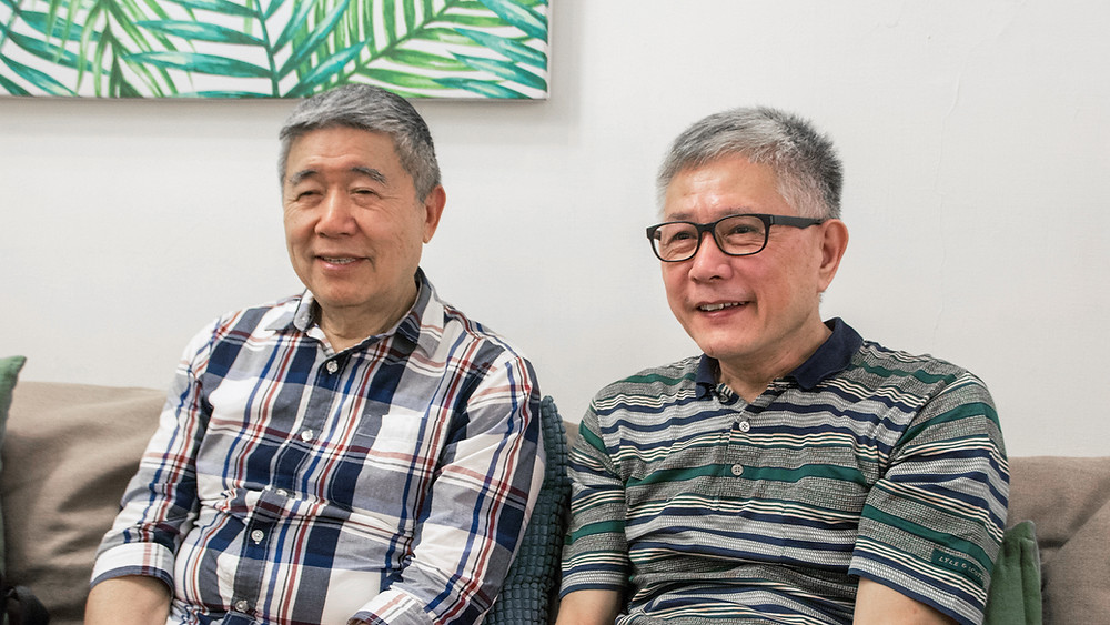 Uncle Ho (何祥) and uncle Wang (王天明)