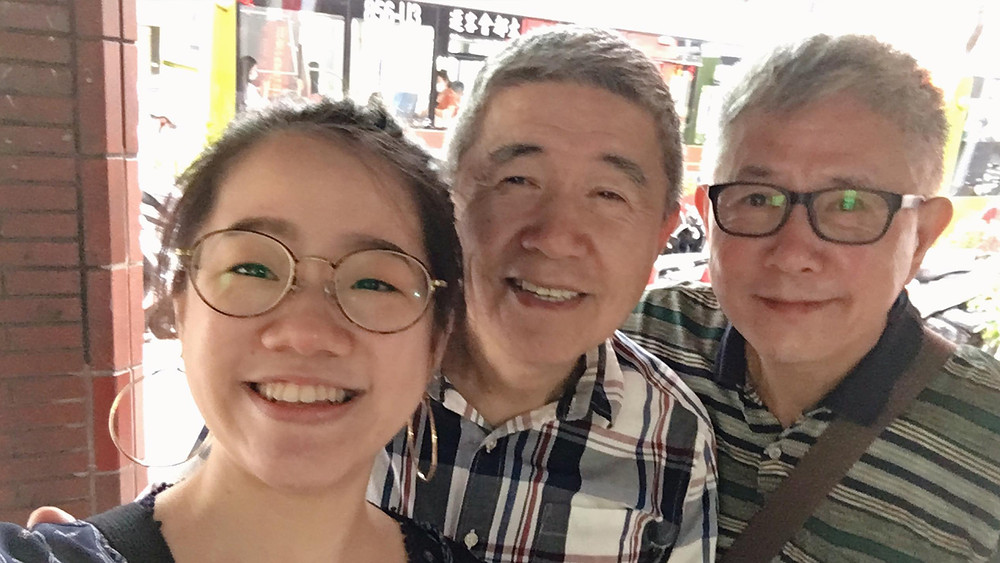 Director Tang (譚棨茼), Uncle Ho (何祥) and uncle Wang (王天明)