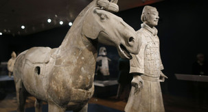 National Gallery of Victoria 維多利亞州國立美術館 : TERRACOTTA WARRIORS + CAI GUO-QIANG
