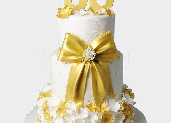 50th Birthday Cake CL8673