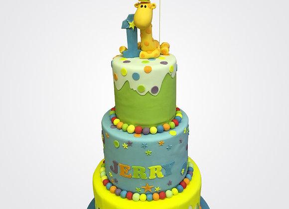 1st Birthday Cake CB0544