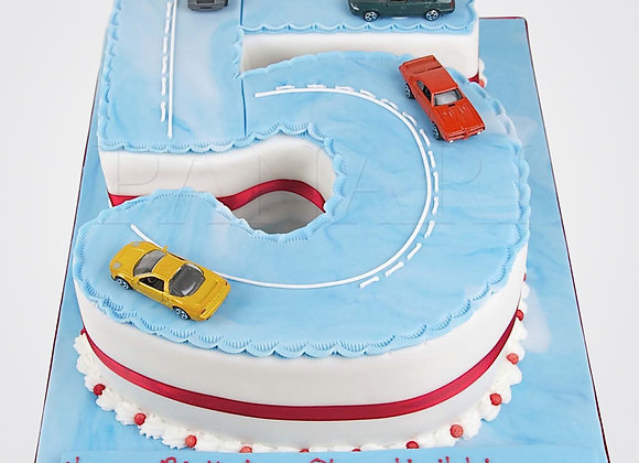 Number Cake AN0136