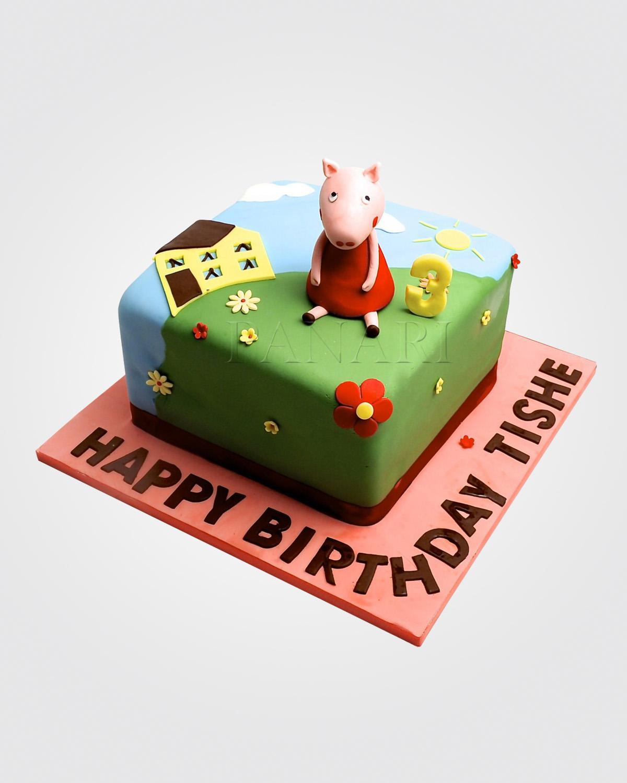 Peppa Pig Cake PE7117.