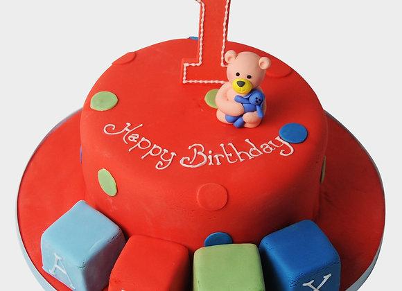 1st Birthday Cake  CB1524