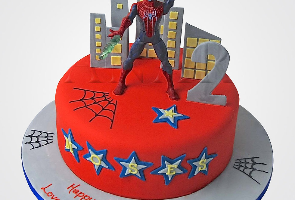 Spiderman Cake SP0978