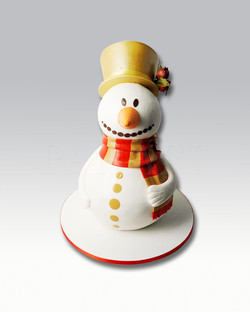 Snow Man Cake CS1962