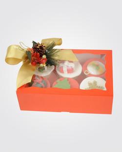 6 Christmas Cupcake CS0017