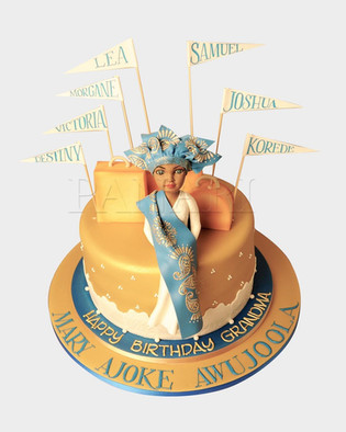 Nigerian Lady Cake CL8854