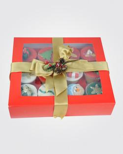 12 Christmas Cupcake CS0015
