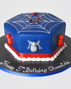 Spiderman Cake SP7062