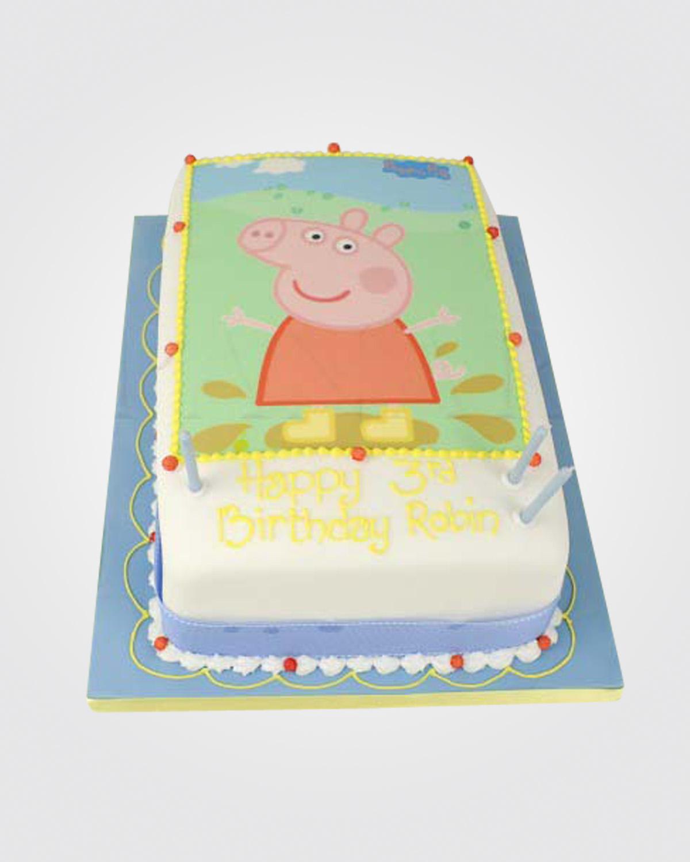 Peppa Pig Cake PE0924.