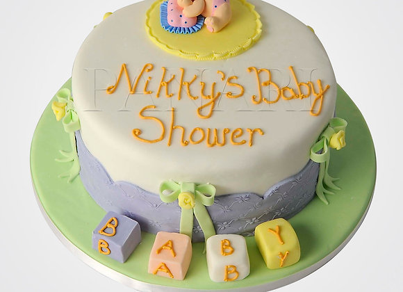 Baby Shower Cake CHB6582