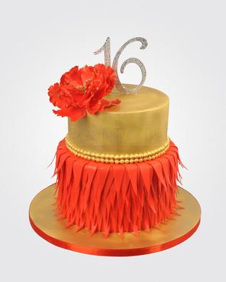 16th Birthday Cake CL3997