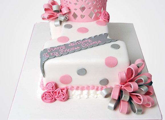 1st Birthday Cake CG0018
