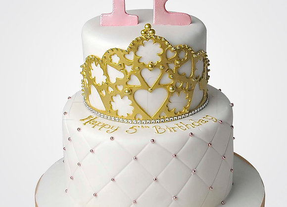 Gold Crown Cake  CL4568