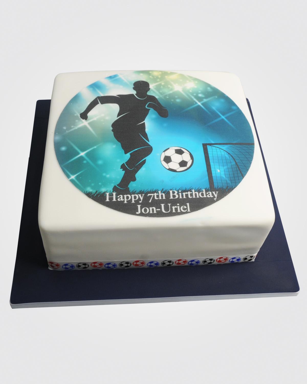 Footballer Cake SPH2806