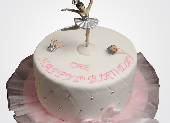 Ballet Cake CG0858