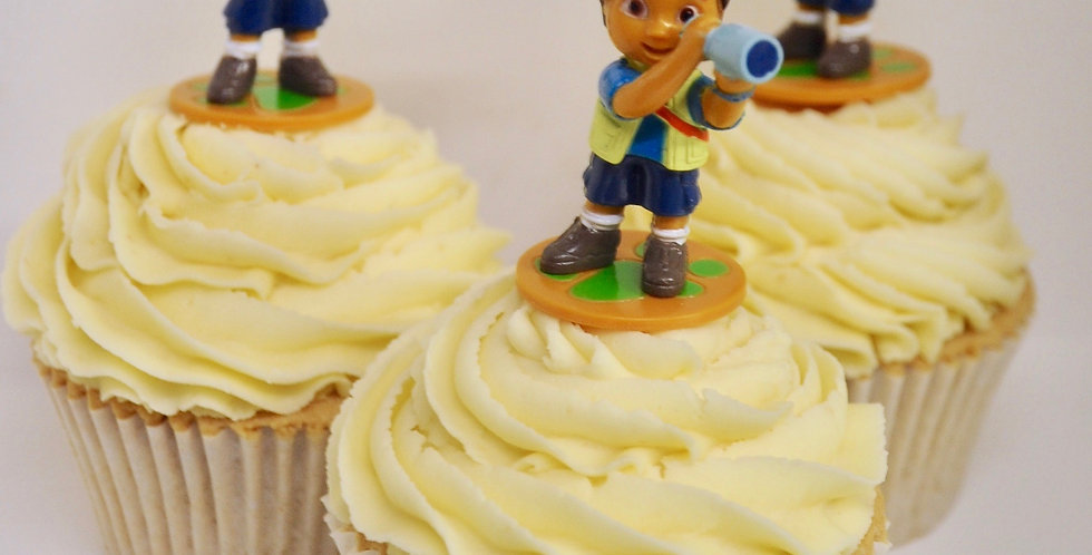 12 Diego Cupcakes CP2112