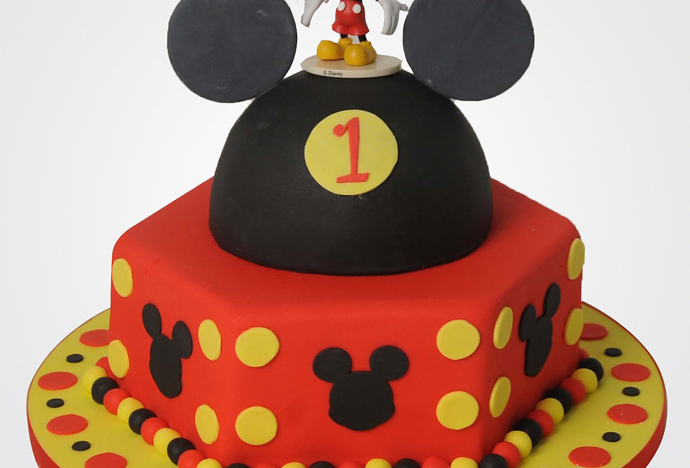 Mickey Mouse Cake MM2025