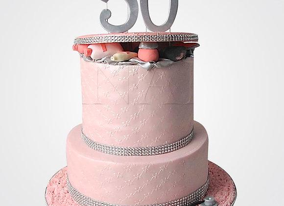 50th Birthday Cake CL9643