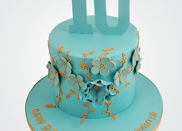 Floral Notes Cake CG6038