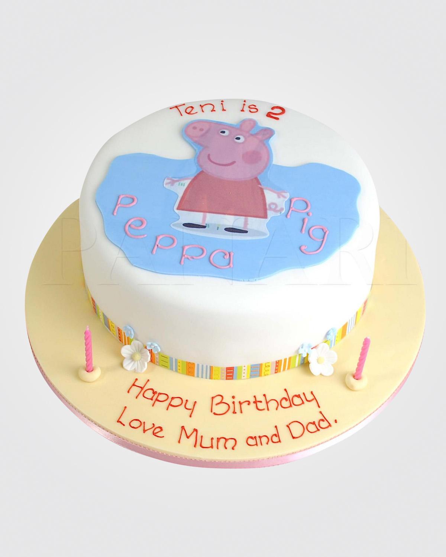 Peppa Pig Cake PE0094