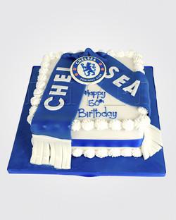 Chelsea Football Cake SPH6481