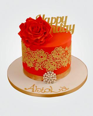 Red Rose Cake CL5723