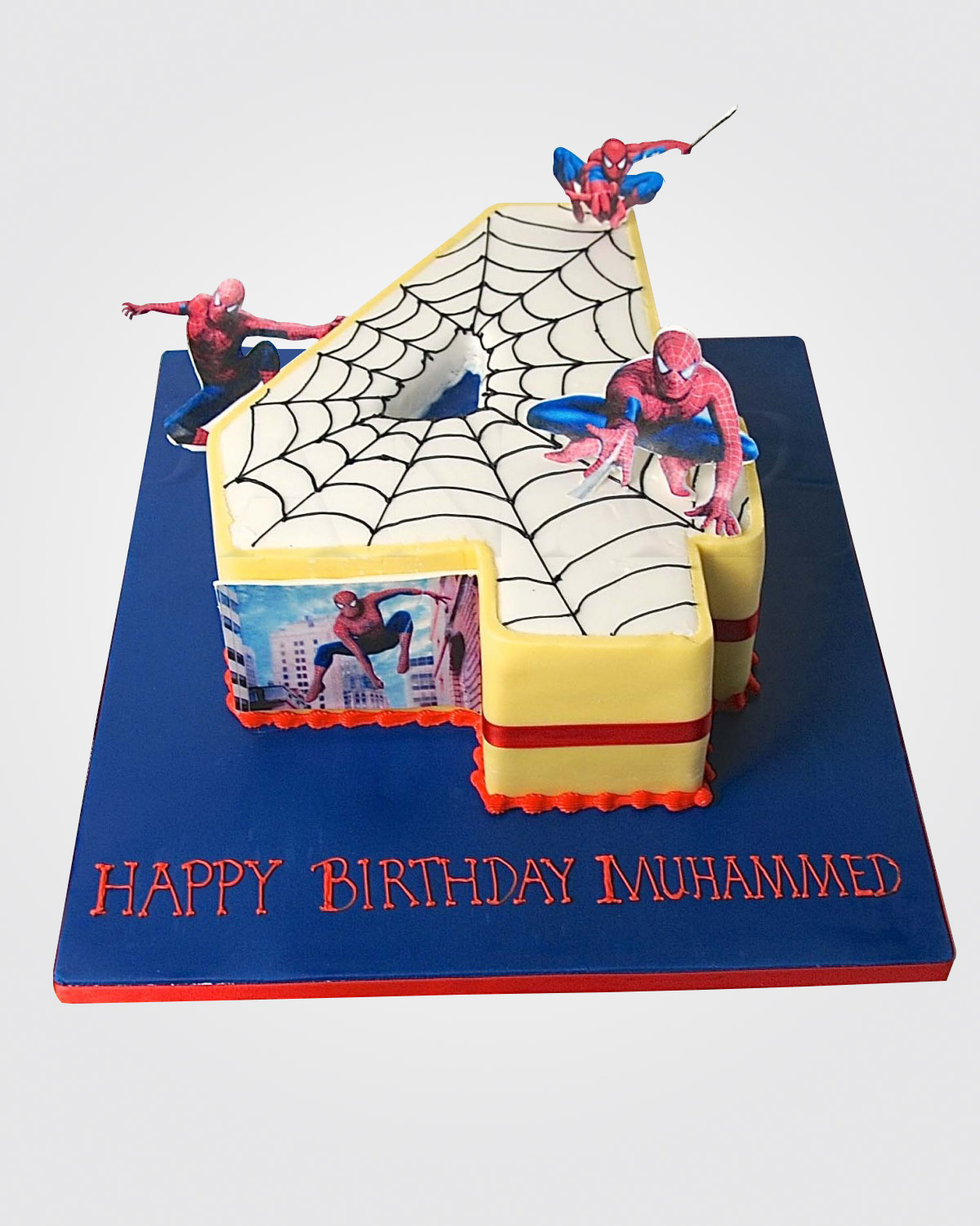 Spiderman Cake SP8884