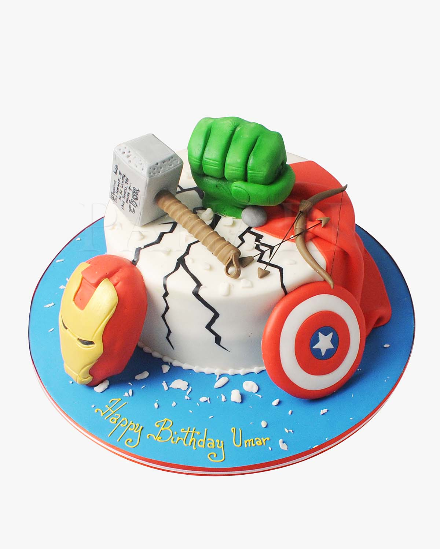 Avengers Cake SP5914