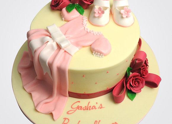 Christening Dress Cake CG3076