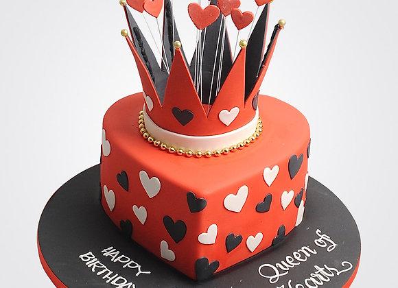 Queen of Hearts Cake CG4595