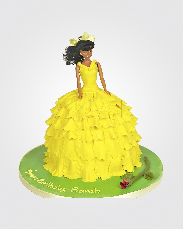 Princess Doll cake CI0991