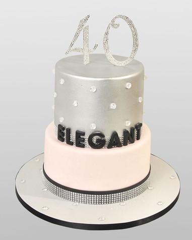 40th Birthday Cake CL9699.jpg