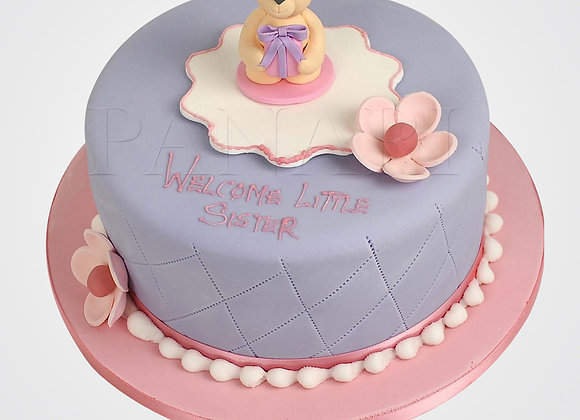 Cute Teddy Bear Cake CG1280
