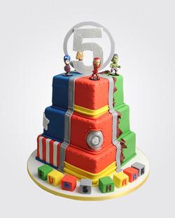 Avengers Cake SP5097