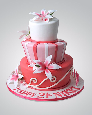 Lily Cake CL0699