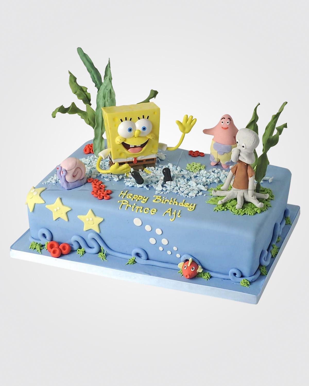 Sponge Bob Cake SP2755