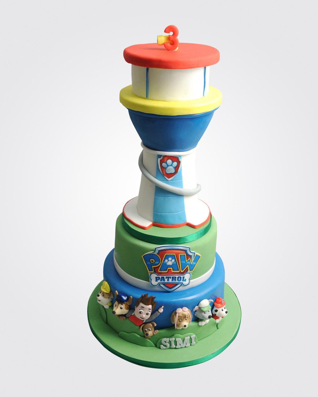 Paw Patrol Cake PW5507