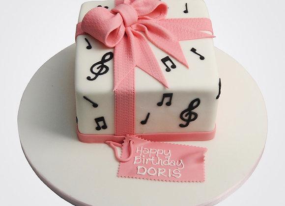 Musical Notes Cake CG6201