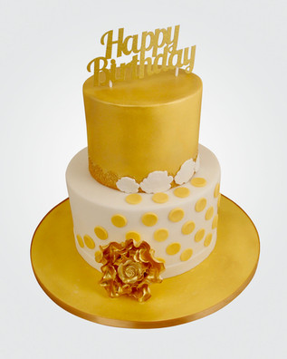 Gold Rose Cake CL5965