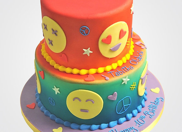 Emoji Cake CG9615