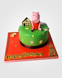 Peppa Pig Cake PE6418.