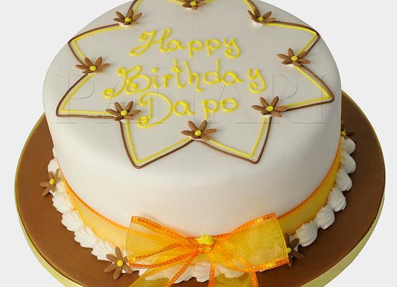 Orangy Brown Cake