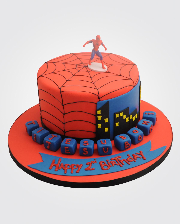 Spiderman Cake SP0586
