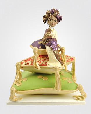 African Bride Cake AFC0034