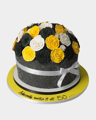 Rose Bouquet Cake CL5715